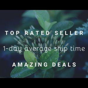 Top Rated Seller Status!